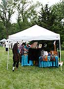 Midwest SOARRING Foundation Indian Arts & Crafts vendor tents