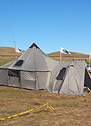 Tent Delivered to Standing Rock Sioux Tribe