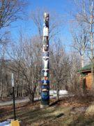 Pilcher Park Totem Pole